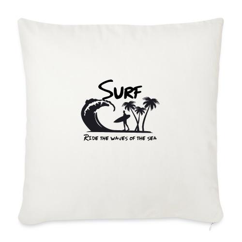 Ride the waves of the sea - Cuscino da divano 44 x 44 cm con riempimento