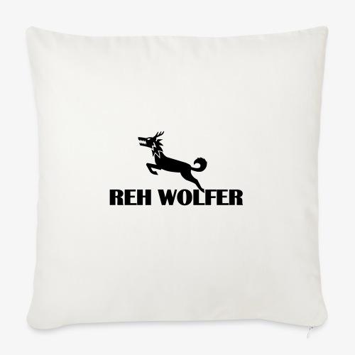 Reh Wolver - Sofakissen mit Füllung 44 x 44 cm
