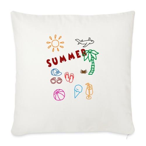 Summer - Sohvatyynyt täytteellä 44 x 44 cm
