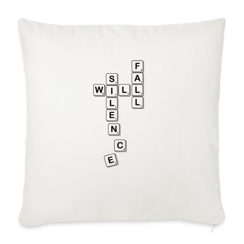 Silence Will Fall - Sofa pillow with filling 45cm x 45cm