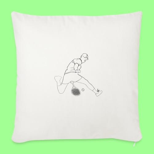 HOTDOG - Poduszka na kanapę z wkładem 44 x 44 cm