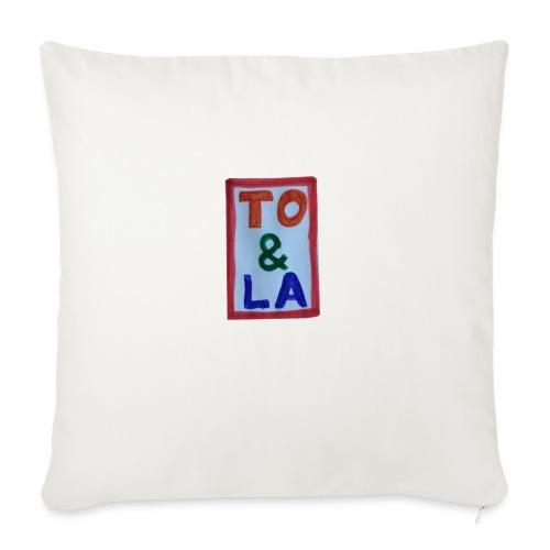 TO & LA - Poduszka na kanapę z wkładem 44 x 44 cm