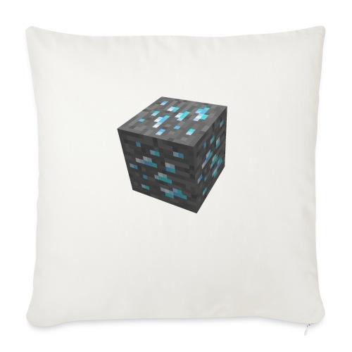 BLOCK DE DIAMANT MINECRAFT - Coussin et housse de 45 x 45 cm