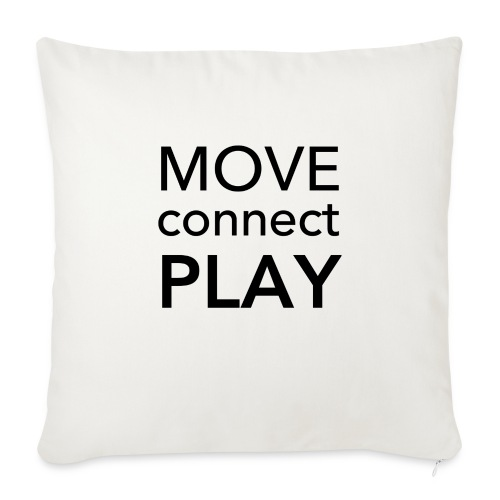 Move Connect Play - AcroYoga International - Sofa pillow with filling 45cm x 45cm
