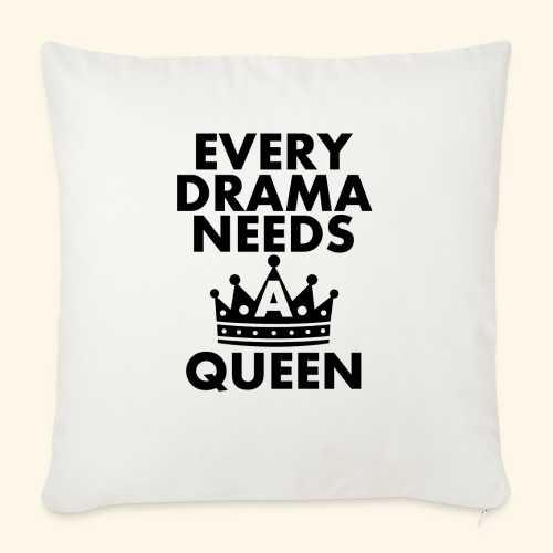 EVERY DRAMA black png - Sofa pillow with filling 45cm x 45cm