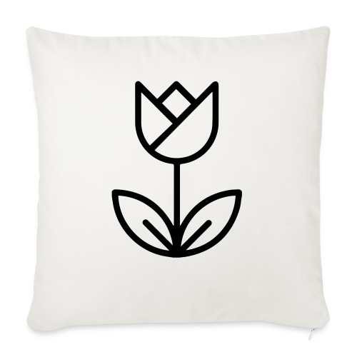 foundedroos - Sofa pillow with filling 45cm x 45cm