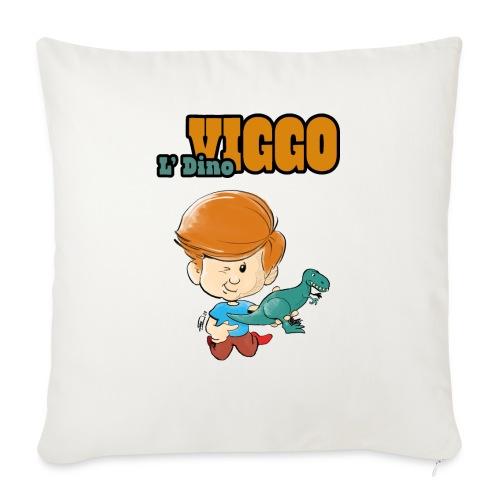 LDinoViggo Logo total - Sofapude med fyld 44 x 44 cm