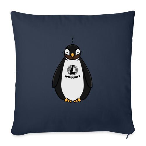 DerLeeZockt Pingu Tasse - Sofa pillow with filling 45cm x 45cm