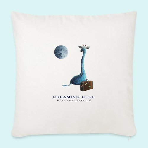 Dreaming Blue - Sofa pillow with filling 45cm x 45cm