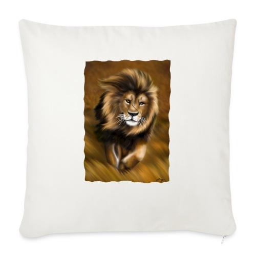 Il vento della savana - Cuscino da divano 44 x 44 cm con riempimento