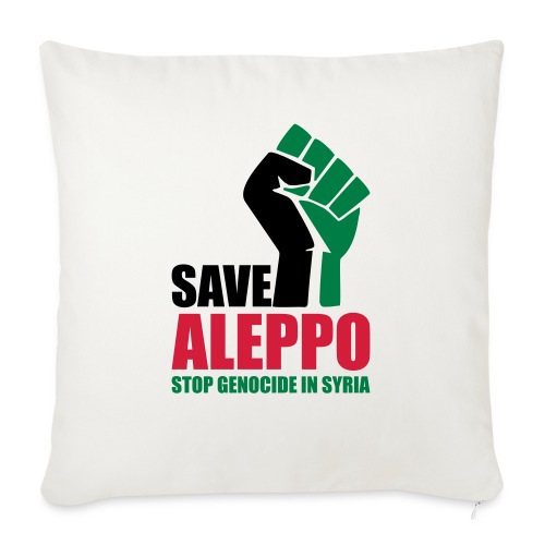 SAVE ALEPPO - Sofa pillow with filling 45cm x 45cm