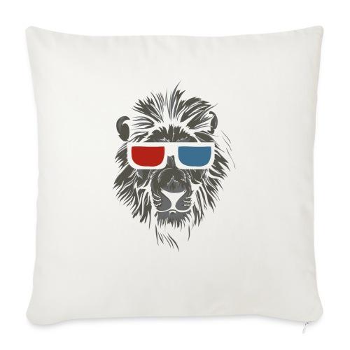 Lion 3D - Soffkudde med stoppning 44 x 44 cm