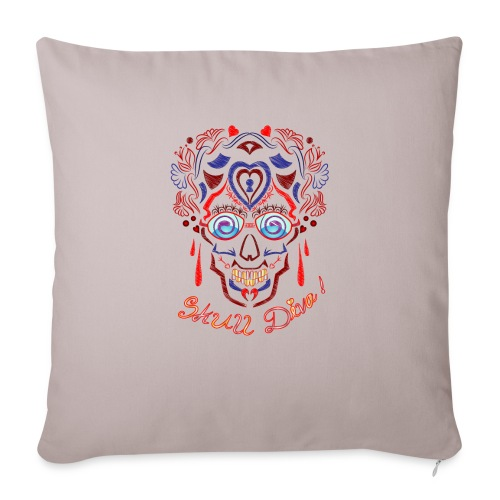 Skull Tattoo Art - Sofa pillow with filling 45cm x 45cm