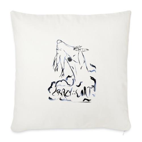 Crazy Goat 1 - Coussin et housse de 45 x 45 cm