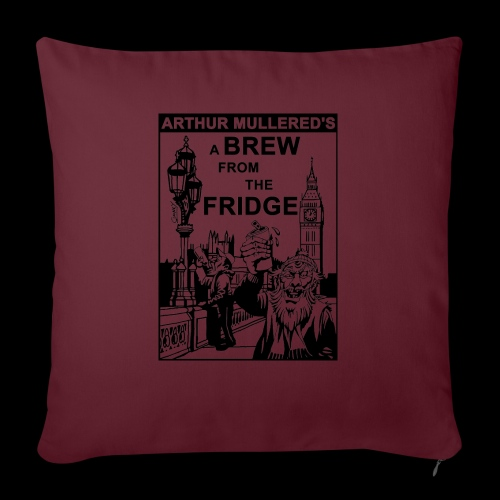 A Brew from the Fridge v2 - Sofa pillow with filling 45cm x 45cm