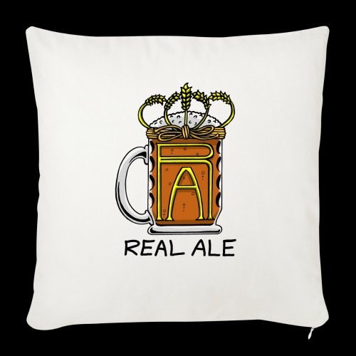 Real Ale - Sofa pillow with filling 45cm x 45cm