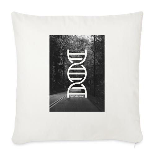 Fotoprint DNA Straße - Sofakissen mit Füllung 44 x 44 cm