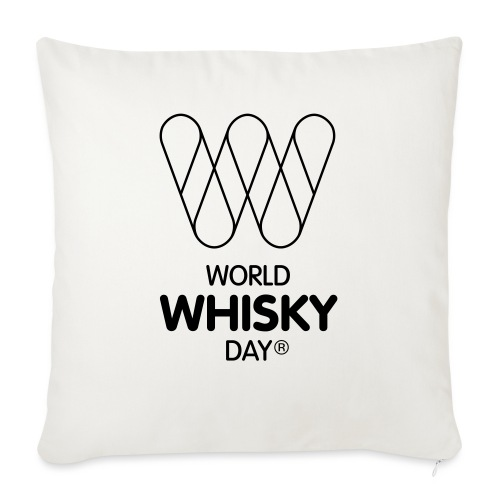 WWD logo - Sofa pillow with filling 45cm x 45cm