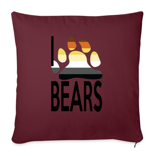 I love bears - Coussin et housse de 45 x 45 cm