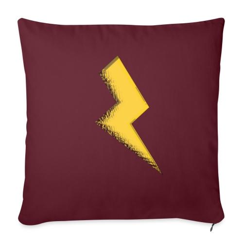 Fulmine - Cuscino da divano 44 x 44 cm con riempimento