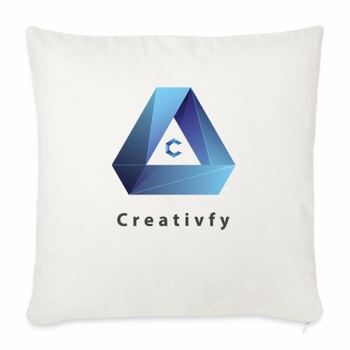 creativfy - Sofakissen mit Füllung 44 x 44 cm