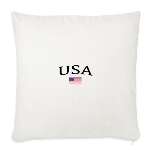 USA, America, Usamade, Trinidad, Laconte, American - Sofa pillow with filling 45cm x 45cm