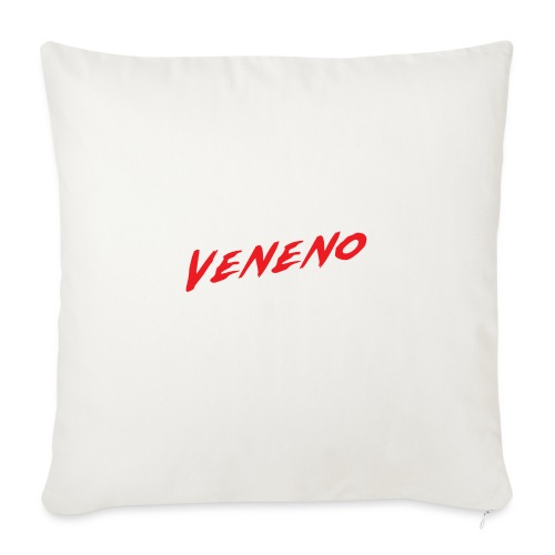 VENENO - Cojín de sofá con relleno 44 x 44 cm