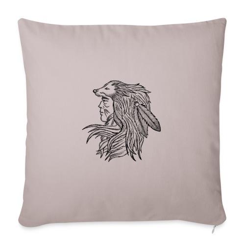 Native American - Cuscino da divano 44 x 44 cm con riempimento