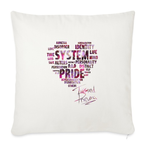 System Pride - Sofa pillow with filling 45cm x 45cm