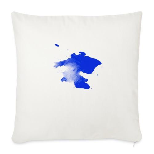 ink splatter - Sofa pillow with filling 45cm x 45cm