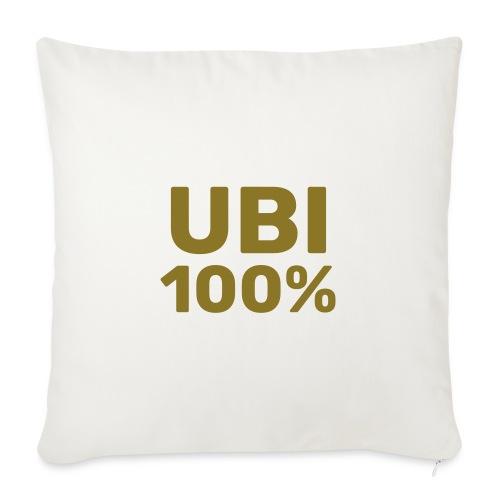 UBI 100% - Sofa pillow with filling 45cm x 45cm