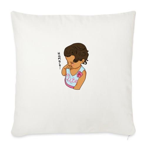La Baby tiene hamabre - Cojín de sofá con relleno 44 x 44 cm