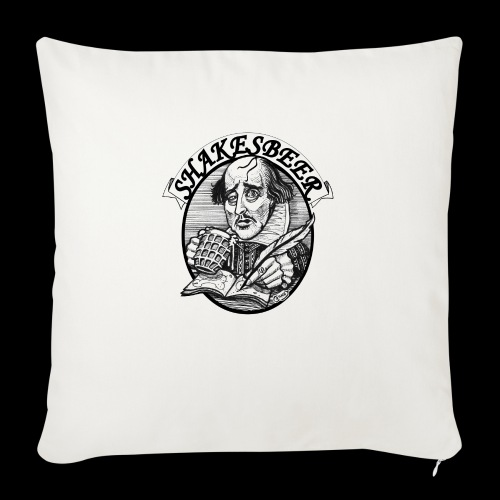 ShakesBeer - Sofa pillow with filling 45cm x 45cm