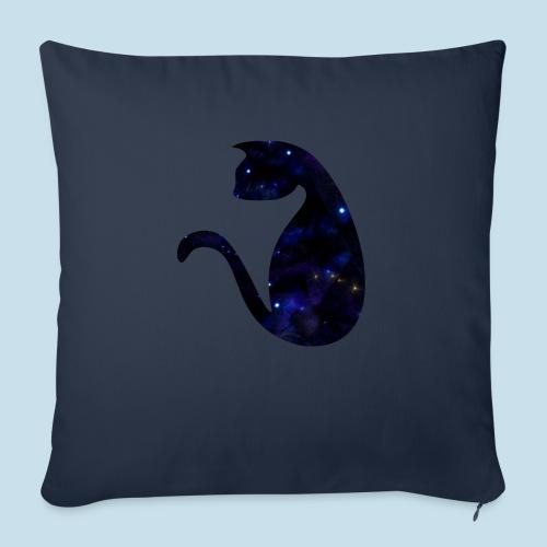 Universums Katze - Sofakissen mit Füllung 44 x 44 cm