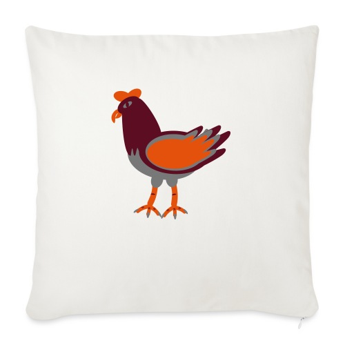 Cock.svg - Cuscino da divano 44 x 44 cm con riempimento