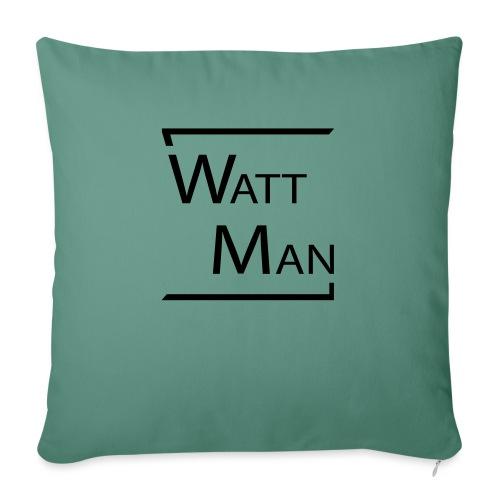 Watt Man - Bankkussen met vulling 44 x 44 cm