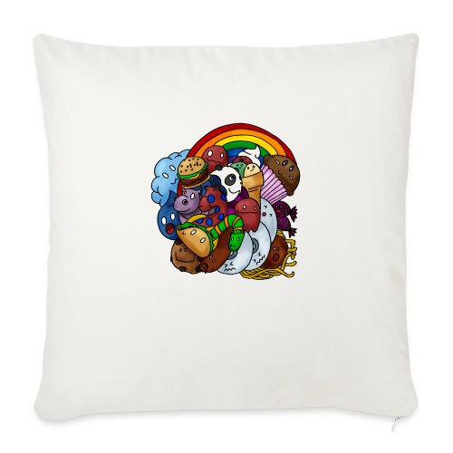 Happy Colors - Sofakissen mit Füllung 44 x 44 cm