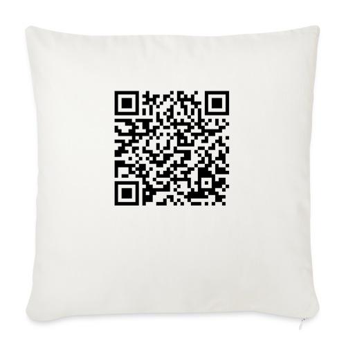 static qr code without logo2 png - Cuscino da divano 44 x 44 cm con riempimento