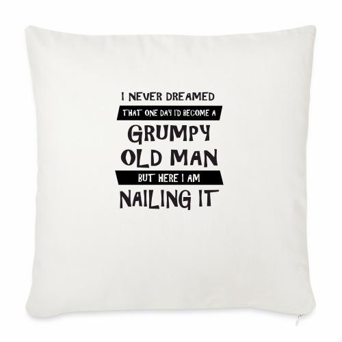 Grumpy 1 - Sofapude med fyld 44 x 44 cm