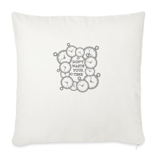 clock - Cuscino da divano 44 x 44 cm con riempimento
