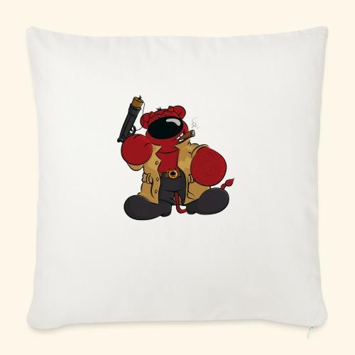 chris bears Der Bär ist ein Superheld - Sofakissen mit Füllung 44 x 44 cm