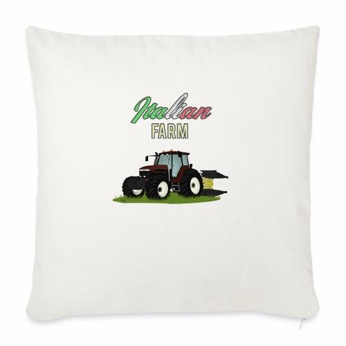 Italian Farm official T-SHIRT - Cuscino da divano 44 x 44 cm con riempimento