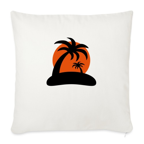 palm island sun - Bankkussen met vulling 44 x 44 cm