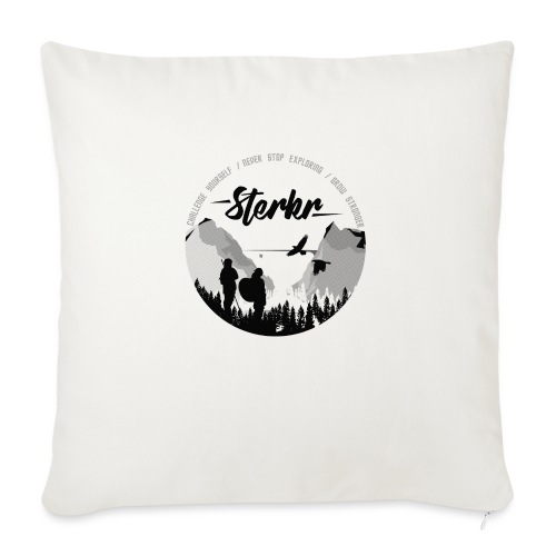 STERKR - Fjordview - Sofa pillow with filling 45cm x 45cm