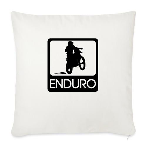 Enduro Rider - Sofakissen mit Füllung 44 x 44 cm