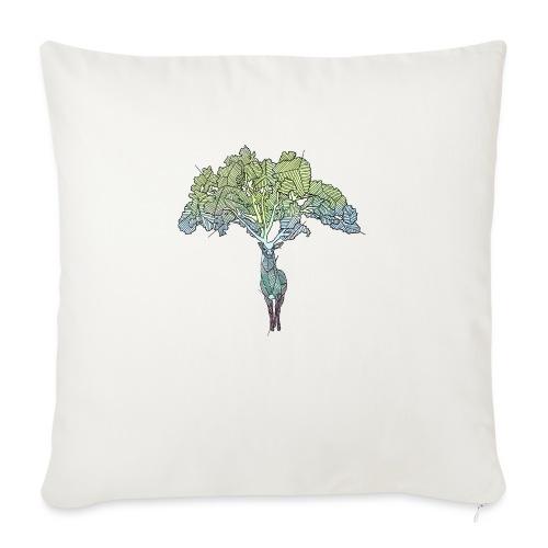 Treedeer - Sofa pillow with filling 45cm x 45cm