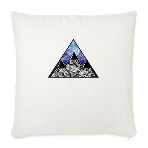 Grime Apparel Mountain Range Graphic Shirt. - Sofa pillow with filling 45cm x 45cm