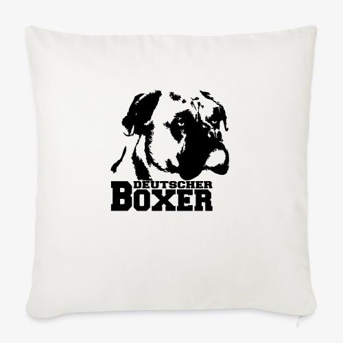 Deutscher Boxer - Sofakissen mit Füllung 44 x 44 cm