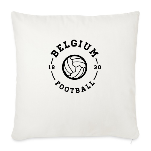 Belgium football - Belgique - Belgie - Coussin et housse de 45 x 45 cm