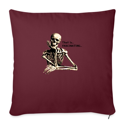That Is Fascinating - Sofa pillow with filling 45cm x 45cm